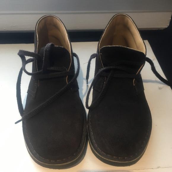 3f5729e292843 Clarks Shoes | Boys Brown Suede Shoe | Poshmark